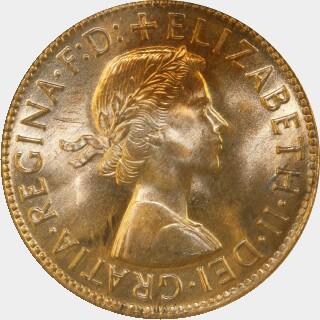 1964  Penny obverse