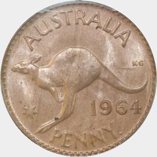 1964-Y  Penny reverse