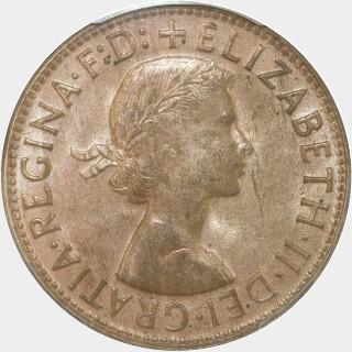 1964-Y  Penny obverse