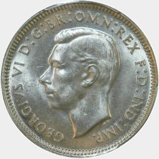 1942  Shilling obverse