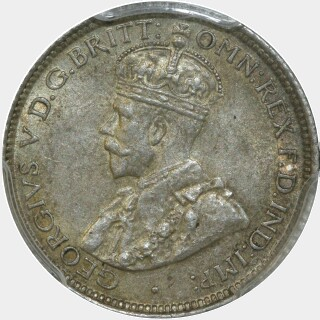 1914  Sixpence obverse