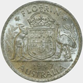 1947  Florin reverse