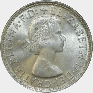 1958  Florin obverse