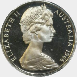1966 Proof Ten Cent obverse