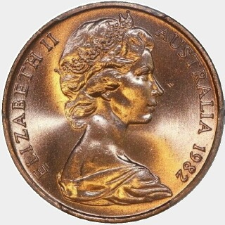 1982  Two Cent obverse