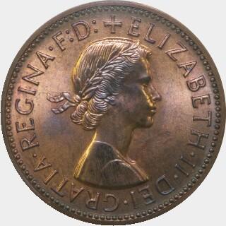 1962-Y Proof Half Penny obverse