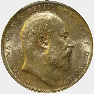 1907-M  Full Sovereign obverse