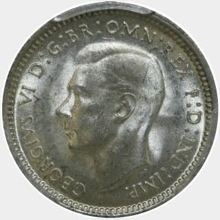 1947  Threepence obverse