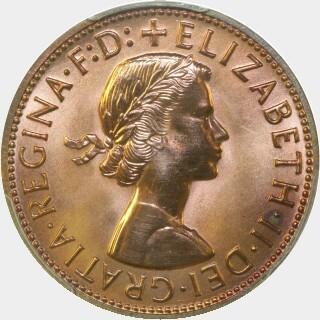 1963-Y Proof Penny obverse