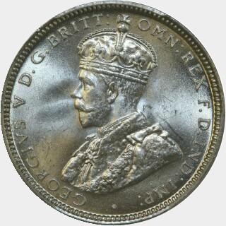 1916-M  Shilling obverse