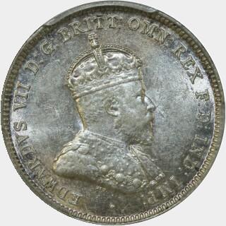 1910  Shilling obverse