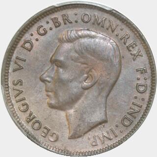 1943-Y  Penny obverse