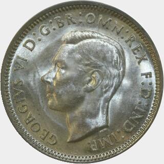 1942-S  Shilling obverse