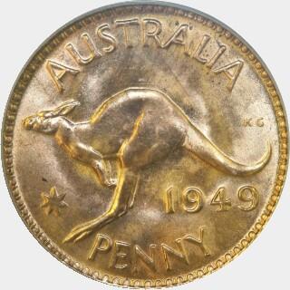 1949  Penny reverse