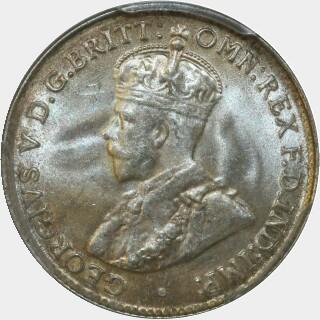 1927  Threepence obverse