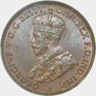 1933  Half Penny obverse