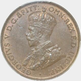 1933  Penny obverse