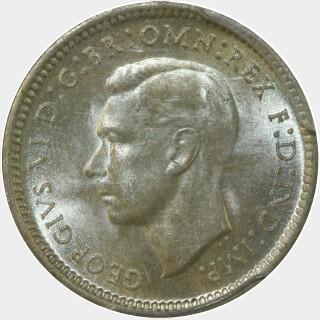 1938  Threepence obverse