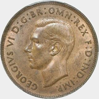 1938  Penny obverse