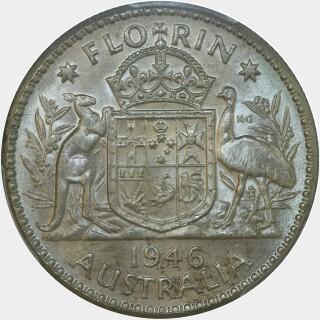 1946  Florin reverse