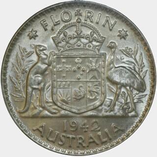 1942  Florin reverse