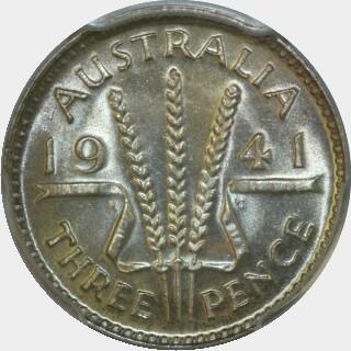 1941  Threepence reverse