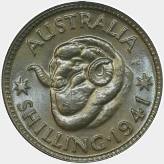1941  Shilling reverse