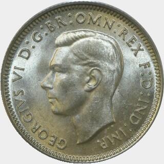 1941  Shilling obverse