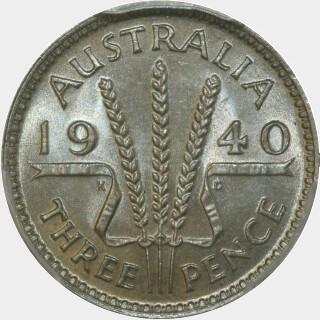 1940  Threepence reverse