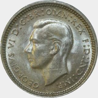 1940  Threepence obverse