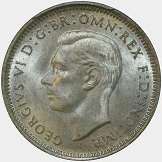 1938  Shilling obverse