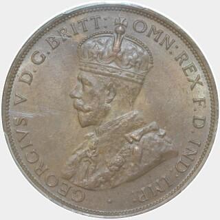 1934  Penny obverse