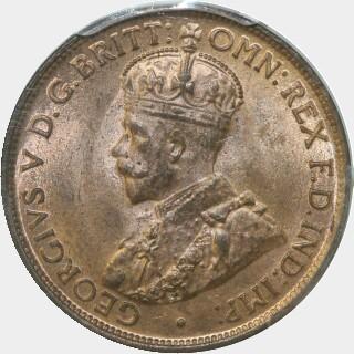 1912-H  Half Penny obverse