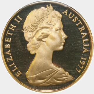 1977 Proof Two Cent obverse