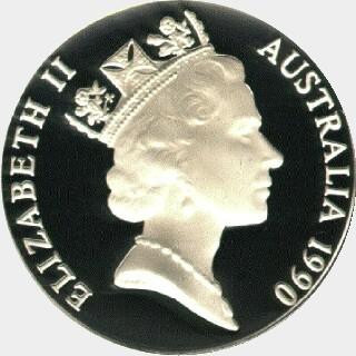 1990  Ten Dollar obverse