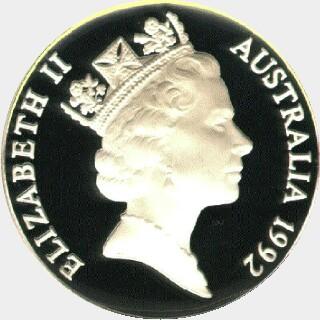 1992  Ten Dollar obverse