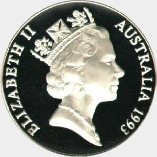 1993  Ten Dollar obverse