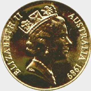1989 Proof Two Hundred Dollar obverse