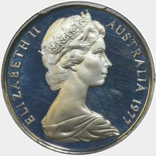 1977 Proof Five Cent obverse
