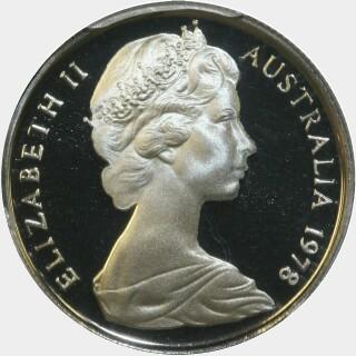 1978 Proof Five Cent obverse