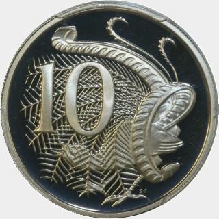 1979 Proof Ten Cent reverse