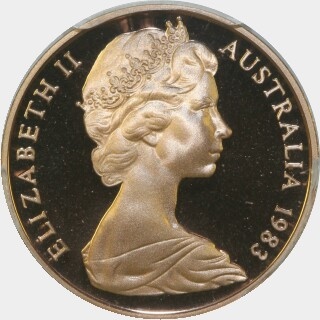 1983 Proof Two Cent obverse
