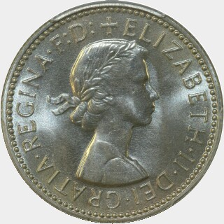 1959 Proof Shilling obverse