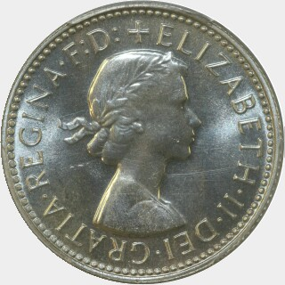 1962 Proof Shilling obverse