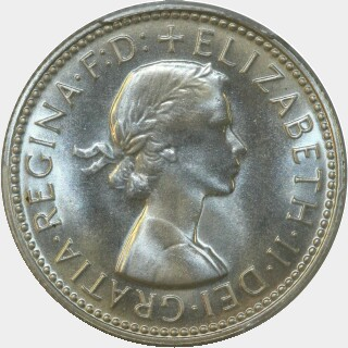 1963 Proof Shilling obverse