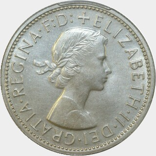 1960 Proof Florin obverse