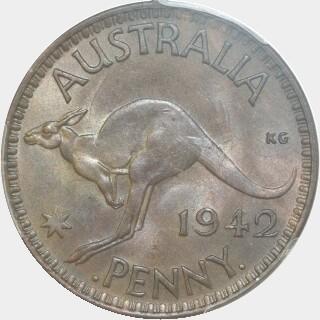 1942-I With I Penny reverse