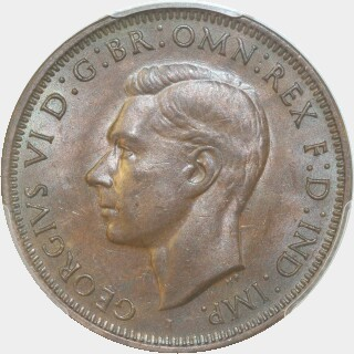 1942-I With I Penny obverse