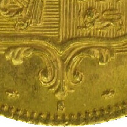 S mintmark indicating the coin was struck in Sydney