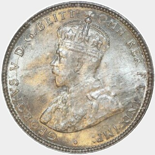 1927  One Shilling obverse